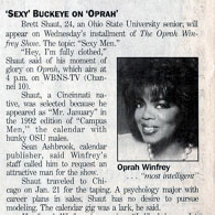 Sexy College Student Appears on Oprah