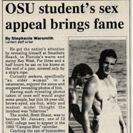 OSU student gets famous from sex appeal