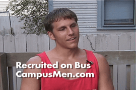 Clinton talks about how he was recruited to appear in the Campus Men Calendar