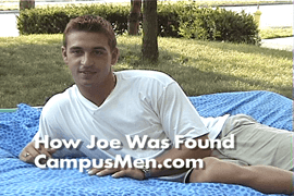 Joe talks about how he was recruited for a spot in the Campus Men Calendar