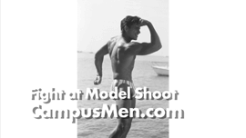 Male Models Get Caught in Crazy Street Fight During Photo Shoot