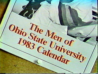 First Calendar Of OSU Male Students