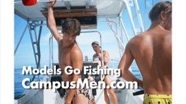 Male Models Go Fishing in the Florida Keys for Grouper