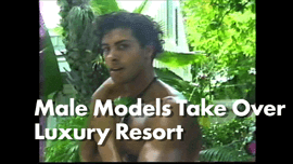 Male Models Enjoy Luxury Simonton Court Resort for Their Photo Shoot in Key West