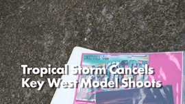 Tropical Storm in Key West Cancels Week of Campus Men Photo Shoots