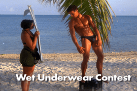 Wet Underwear Contest